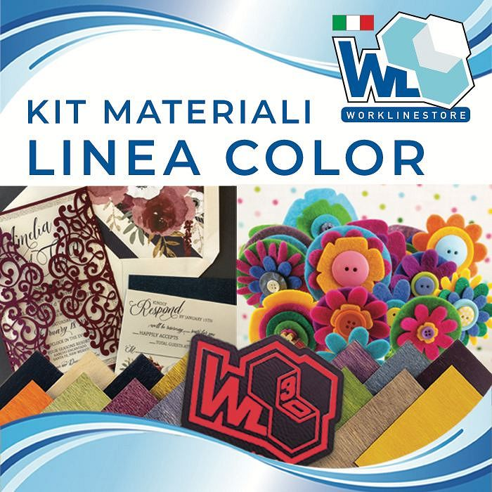 Kit materiali linea COLOR