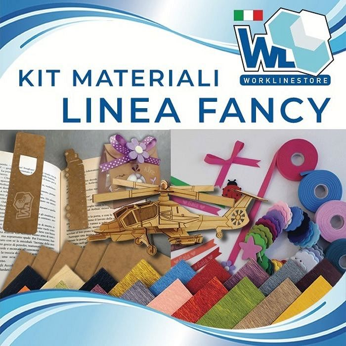 Kit materiali linea FANCY